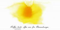 """Kunstkarte """"Hoffen heißt"""" aus dem Europakloster Gut Aich"""