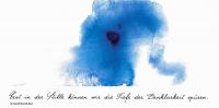 """Kunstkarte """"Stille"""" aus dem Europakloster Gut Aich"""