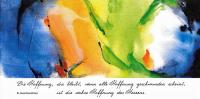 """Kunstkarte """"Hoffnung"""" aus dem Europakloster Gut Aich"""